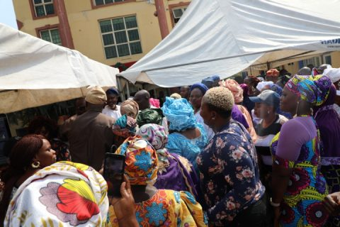 SANWO-OLU CELEBRATES CHRISTMAS WITH  RESIDENTS OF ETI OSA Preaches love and religious tolerance