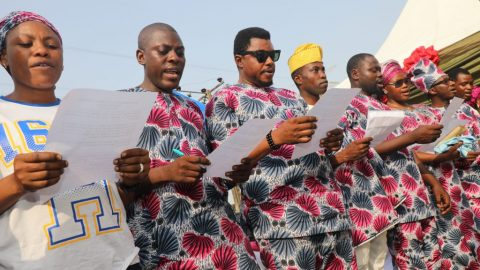 ETI OSA LOCAL GOVERNMENT NULGE INAUGURATES NEW EXCOS Holds End Of The Year Party In Grand Style